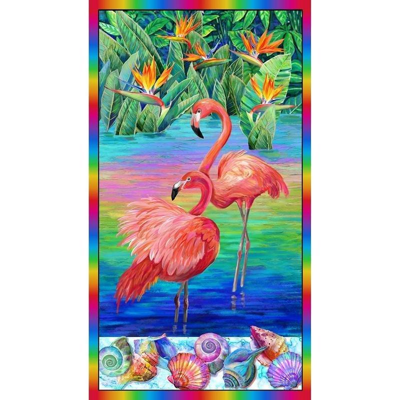 Flamingo Panel 26 inches