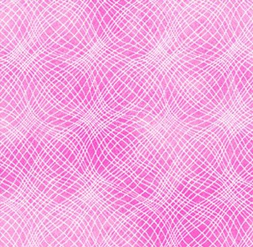 P & B Prints Mesh Pink