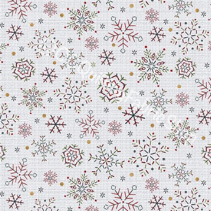 Studio E Snowy Magic Frost Snowflakes