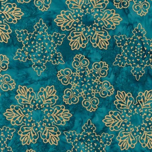 Artisan Batik Snowflakes- Jewel