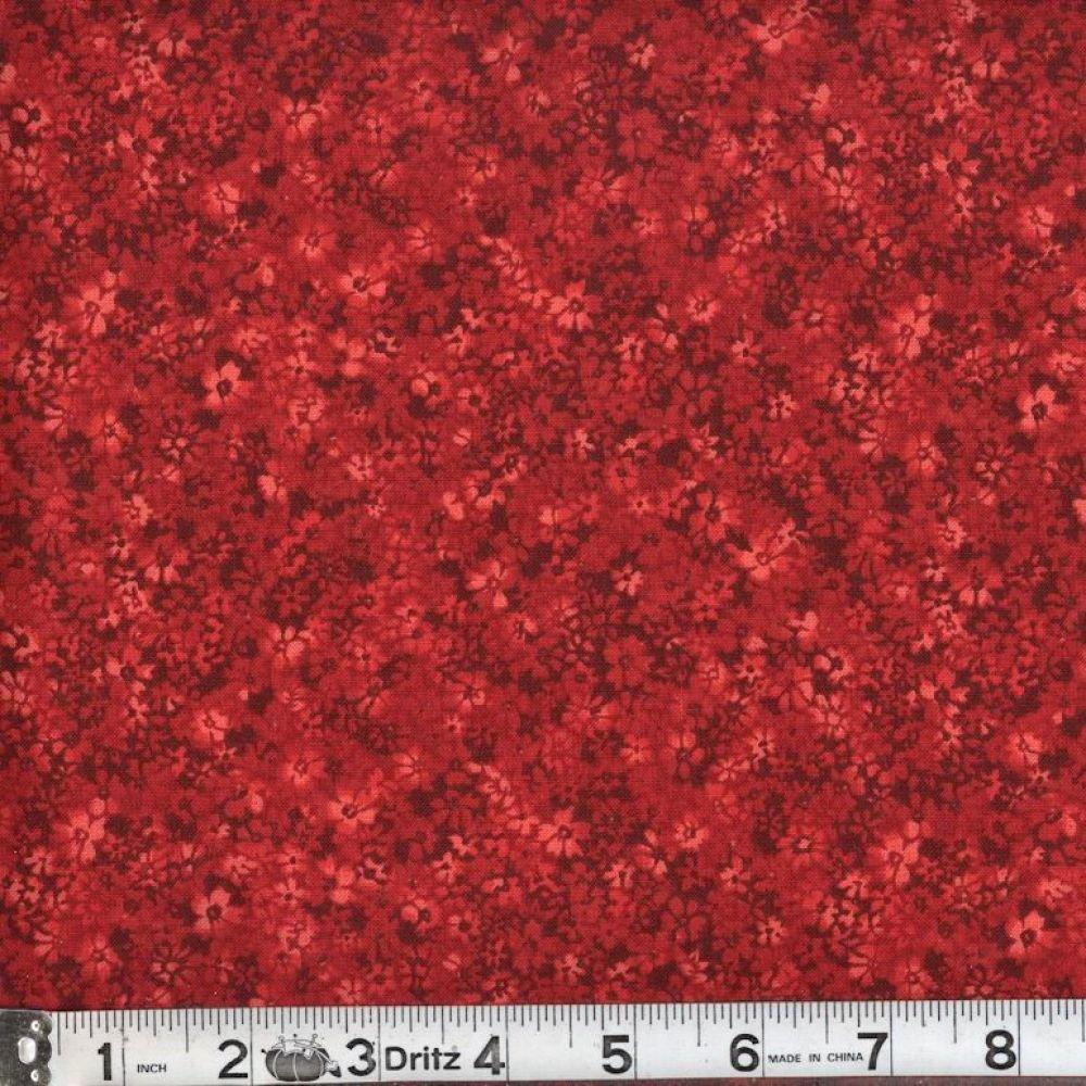 Confetti Floral - Ruby