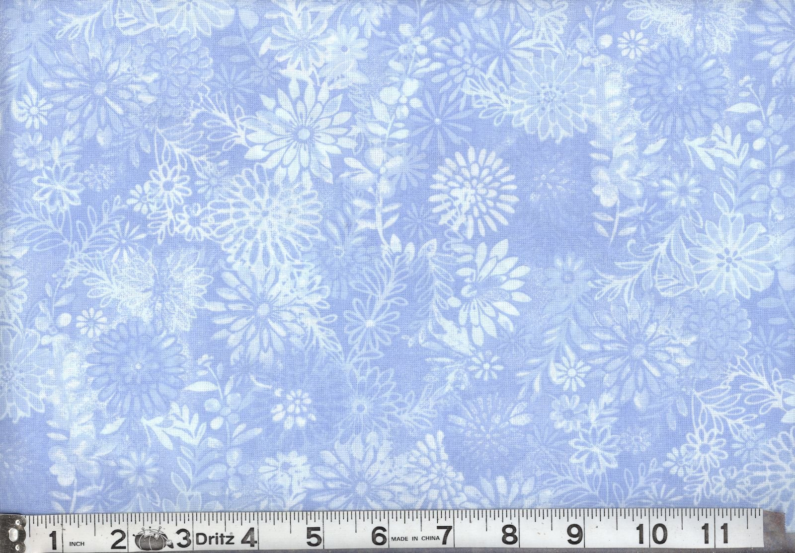 Santee Printworks Floral Forest Light Blue