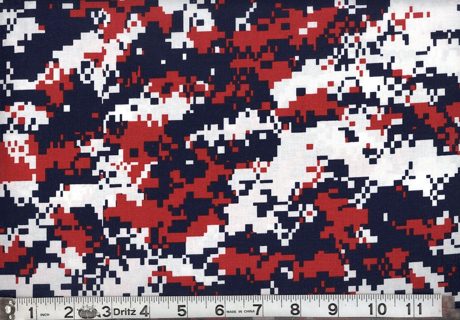 Digital  Red, White  & Blue