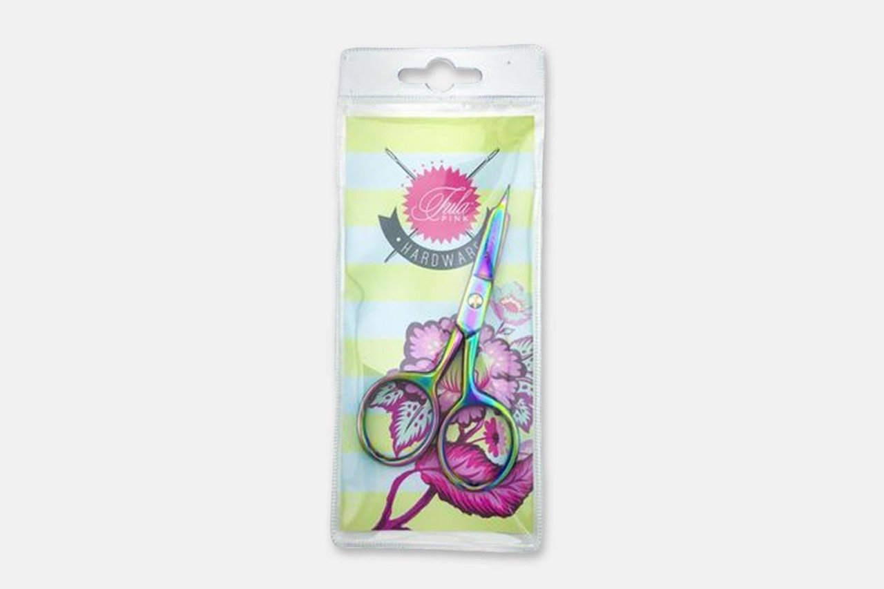 Tula Pink Large Ring Mirco Tip Scissors