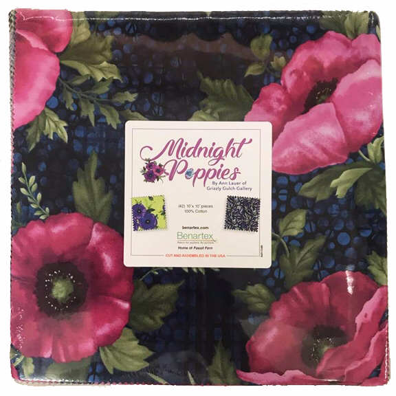 Midnight Poppies 10x10 Pack