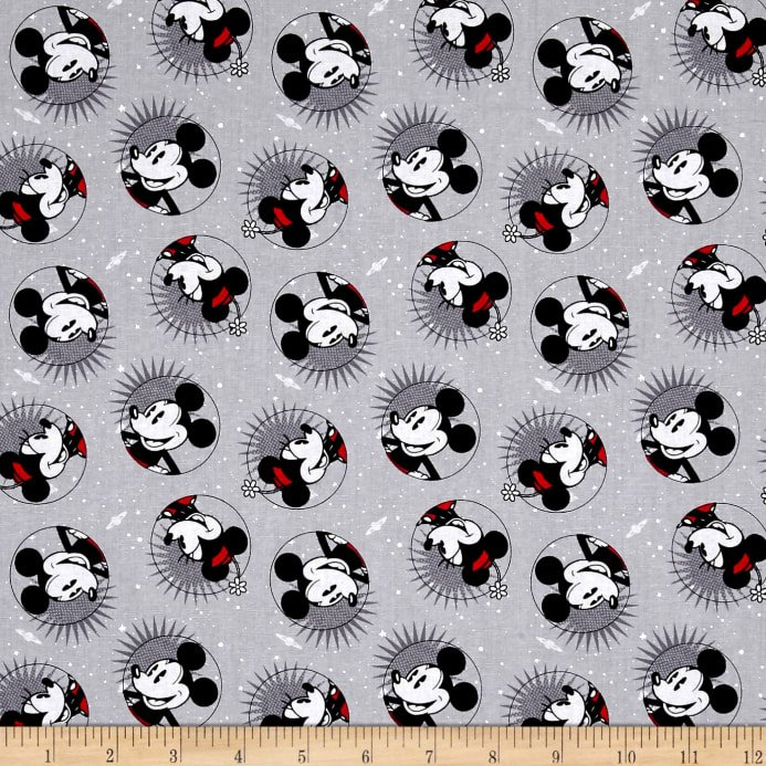 Springs Creative Disney Smile Mickey and Minnie Mouse