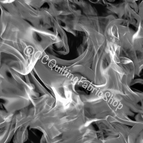 Quilting Treasures Open Air Smoke Black