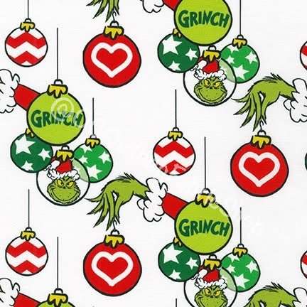 Kaufman How the Grinch Stole Hanging Christmas Ornaments by Dr Seuss