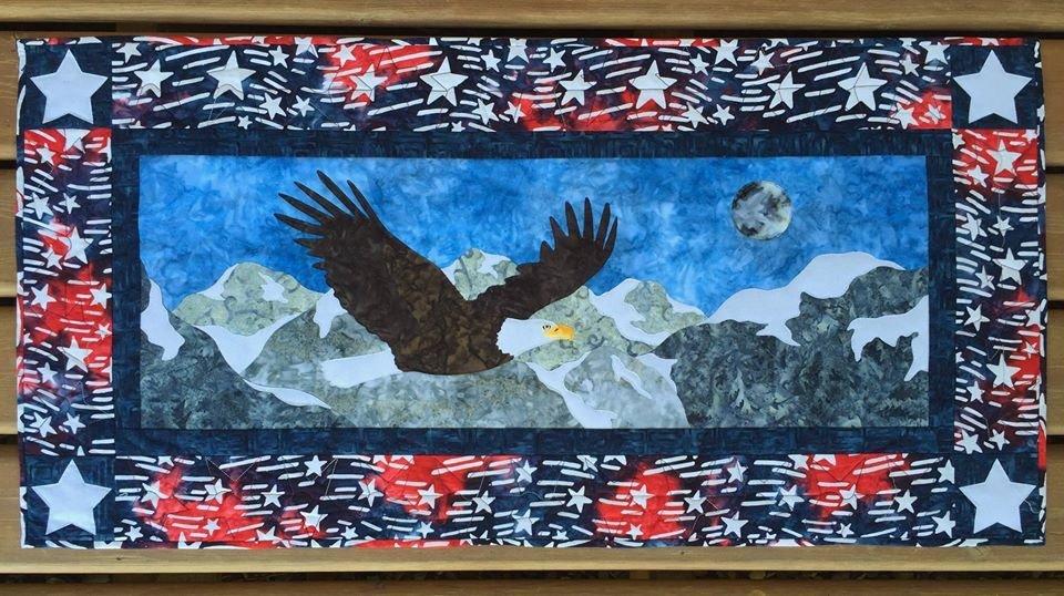 Cantik Batiks Freedom USA Kit