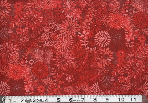 Floral Forest Red