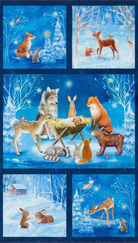 Warm Wishes Winter Panel  24