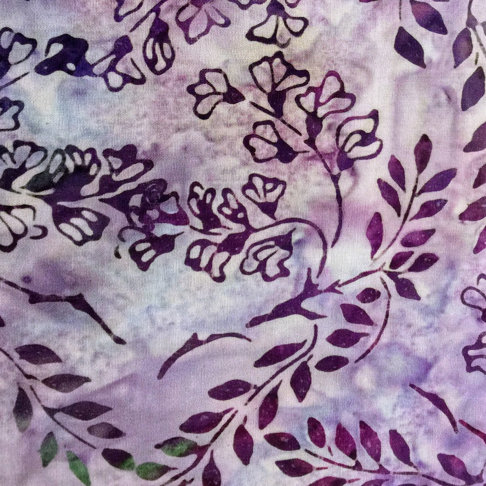 Serendipity 2 Batik Flower Patch - Petunia