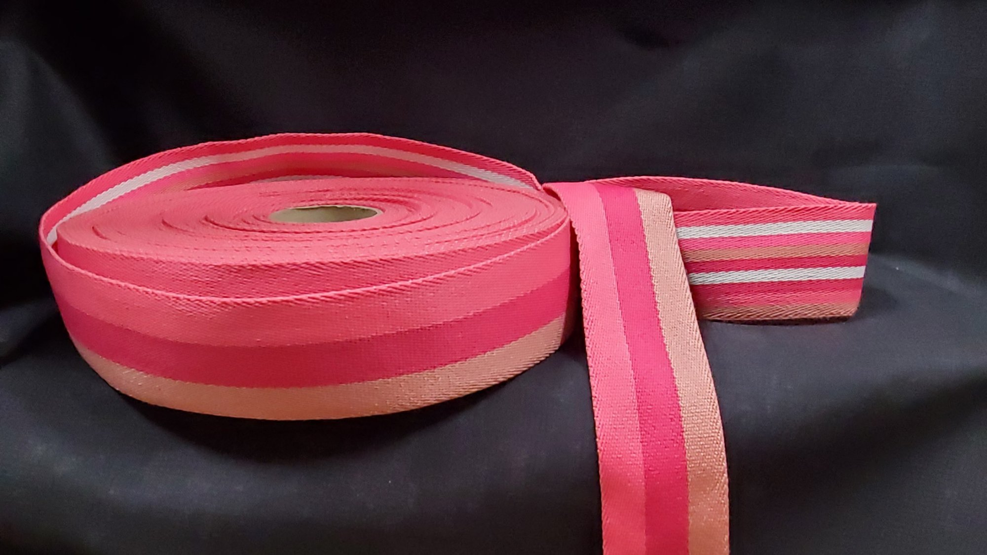 Double Sided Striped Strap Webbing 078