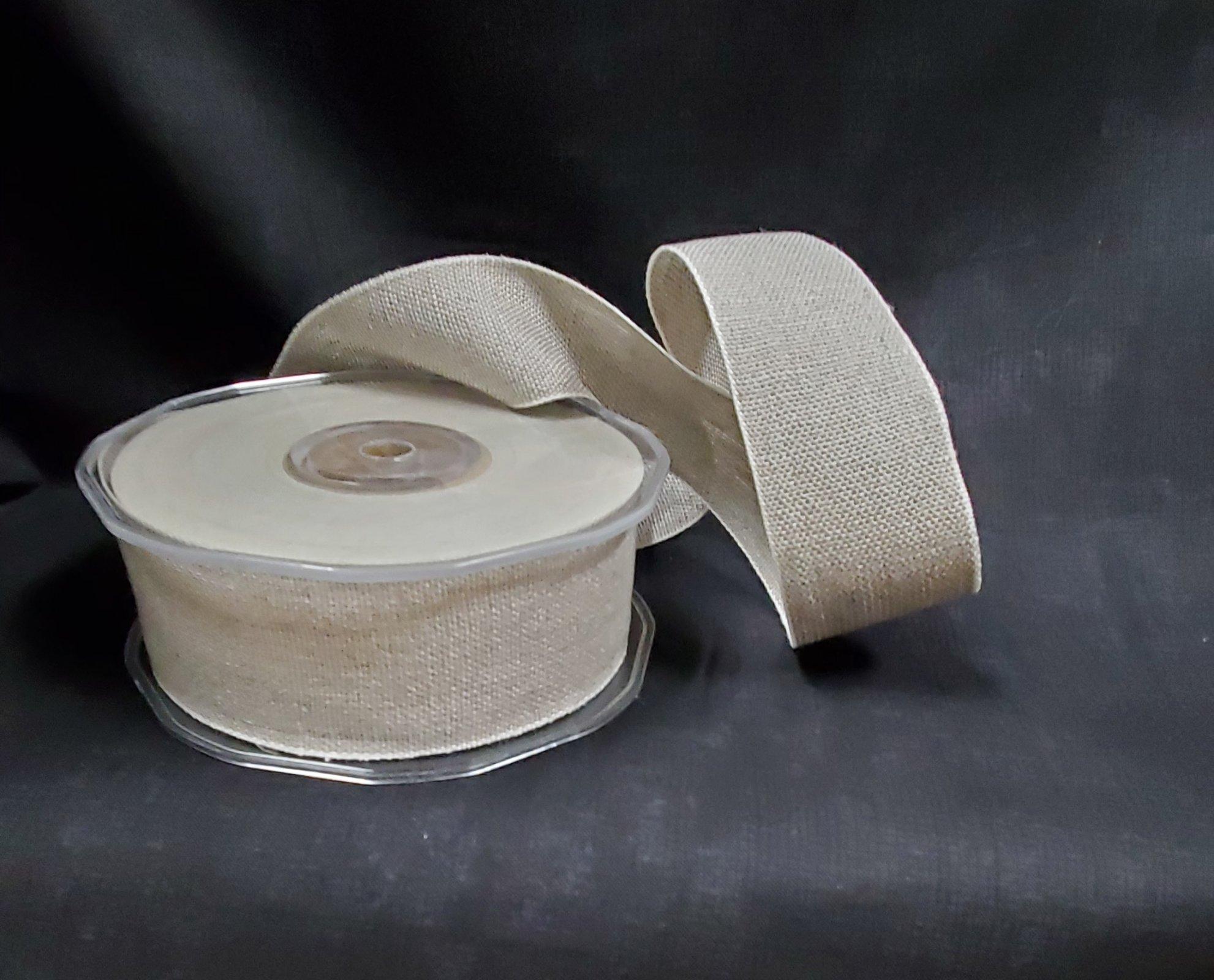 Ruban Linen Ribbon 40mm