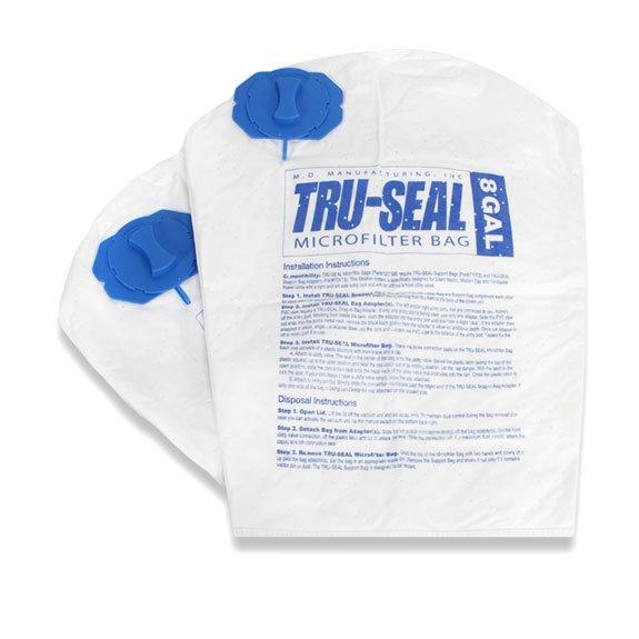 MD Tru-Seal Microfilter 8 Gallon Bag 2pk