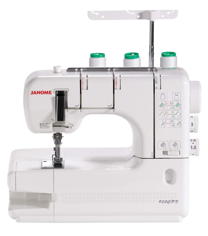Janome 900CPX Cover Pro Machine