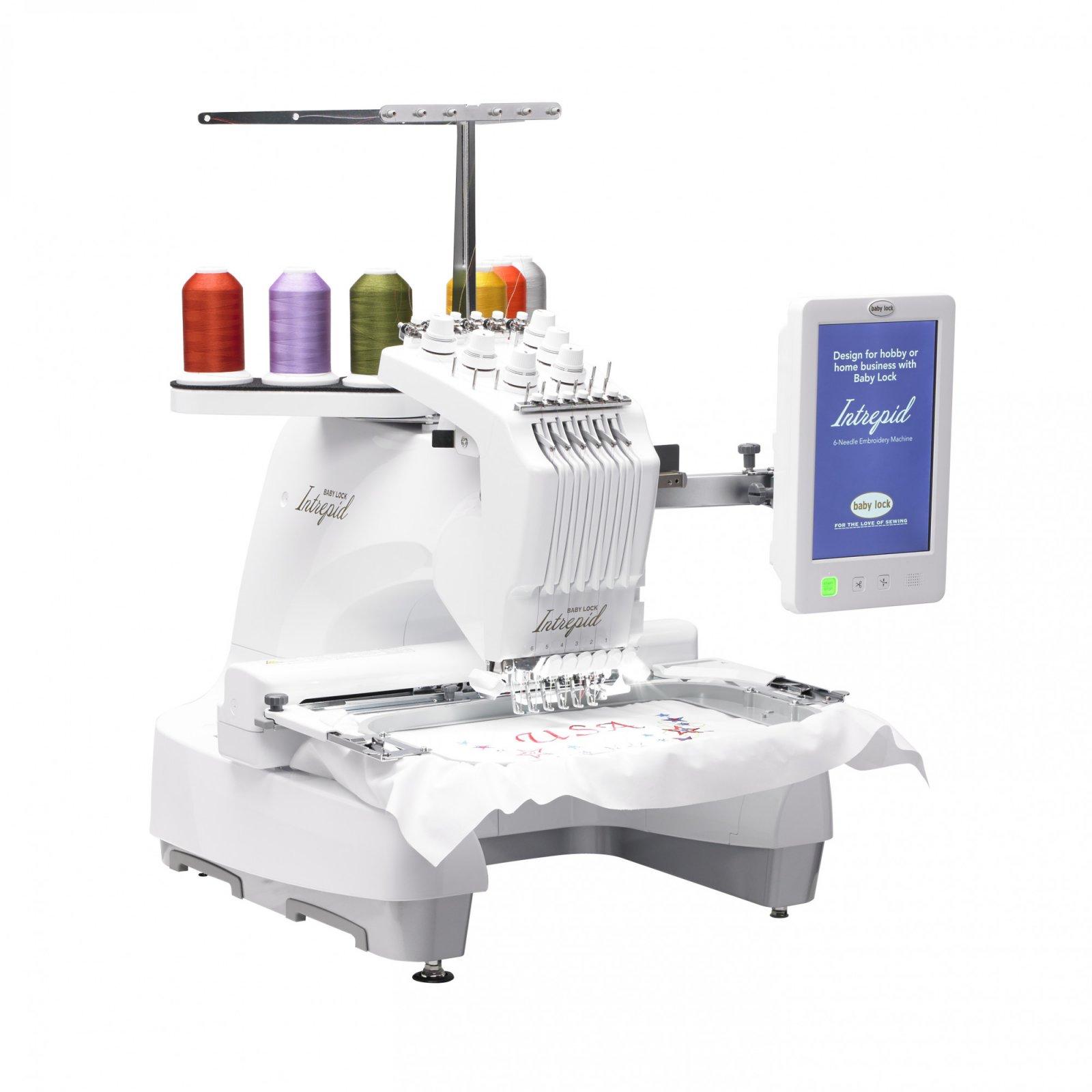 Babylock Intrepid 6 Needle Embroidery Machine
