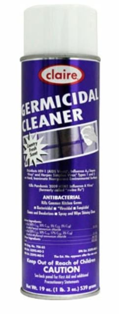 Claire Germicidal Cleaner Country Fresh Scent 19 oz.