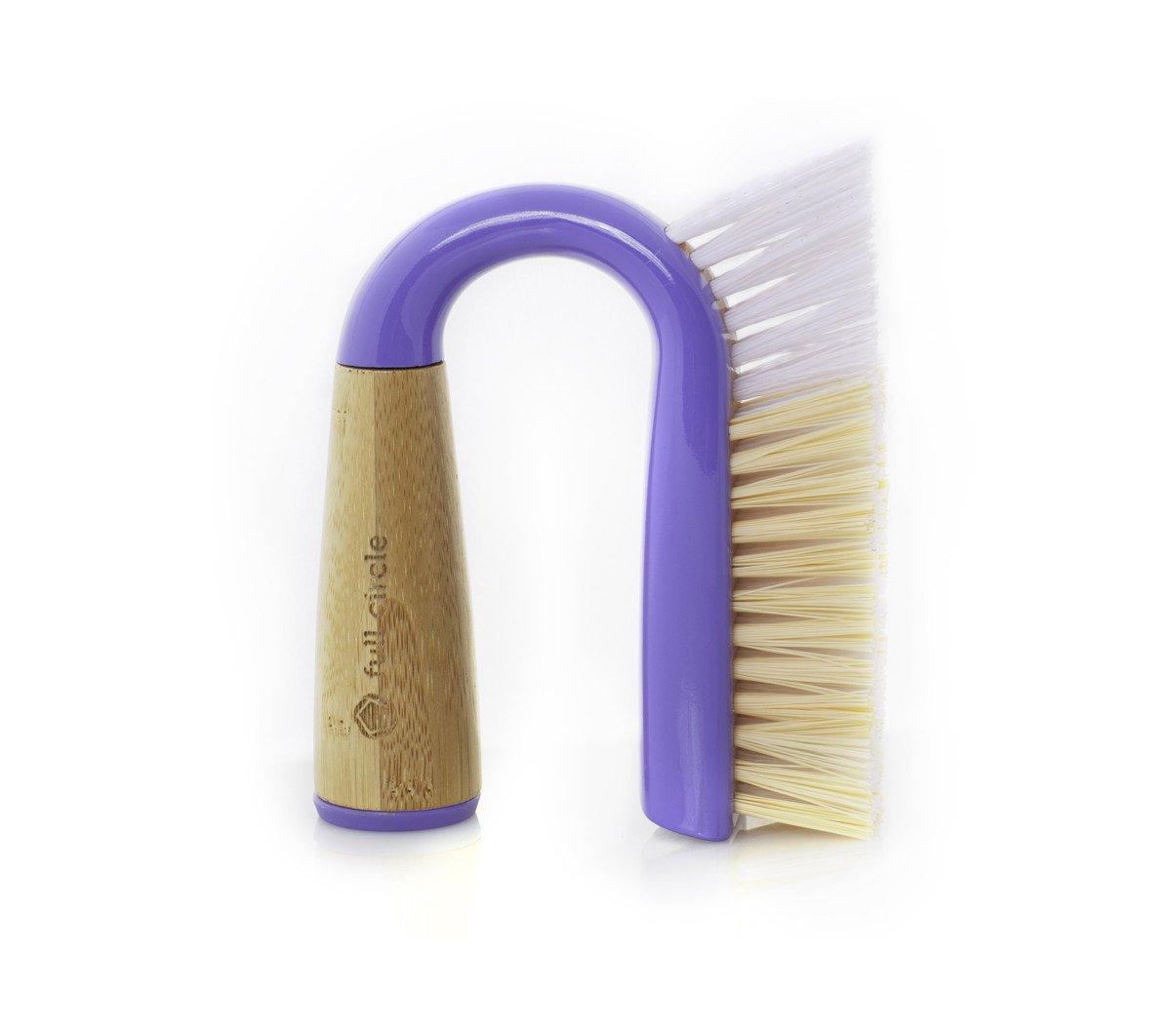 Full Circle Grunge Buster Grout & Tile Brush- Purple