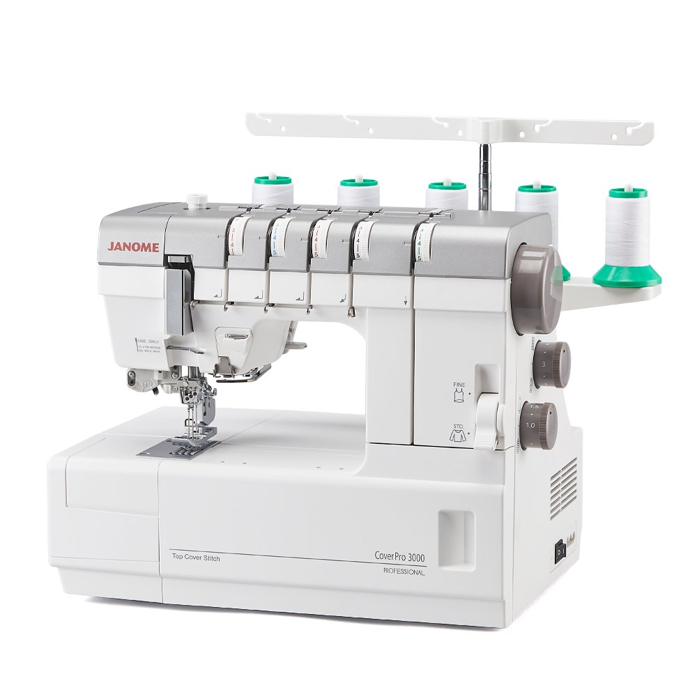 Janome CoverPro 3000 Professional Coverstitch Machine