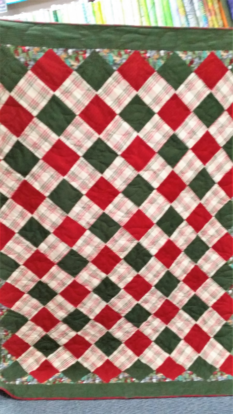 Double Snuggle Flannel Quilt