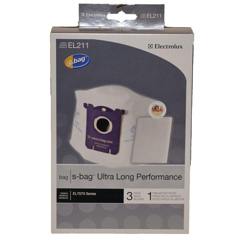 Electrolux EL211 Ultra Long Performance S-Bag 3pk 1 Filter