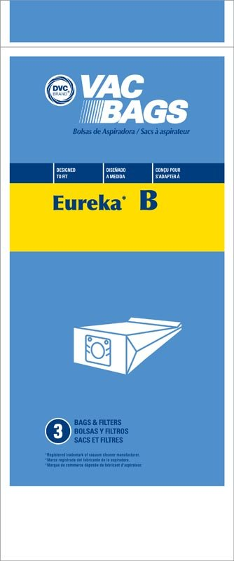 DVC Eureka B Bags 3pk