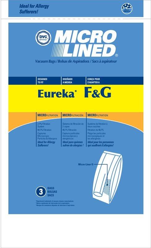 DVC Eureka/Sanitaire F&G Bags 3pk