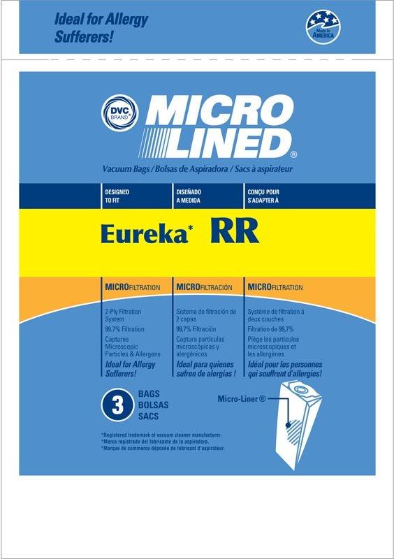 DVC Eureka RR Microlined Bags 3pk