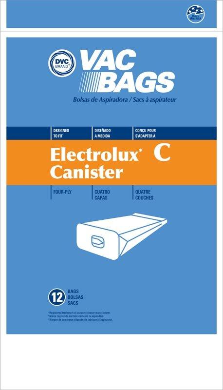 DVC Electrolux C Tank 4-Ply Bags 12pk