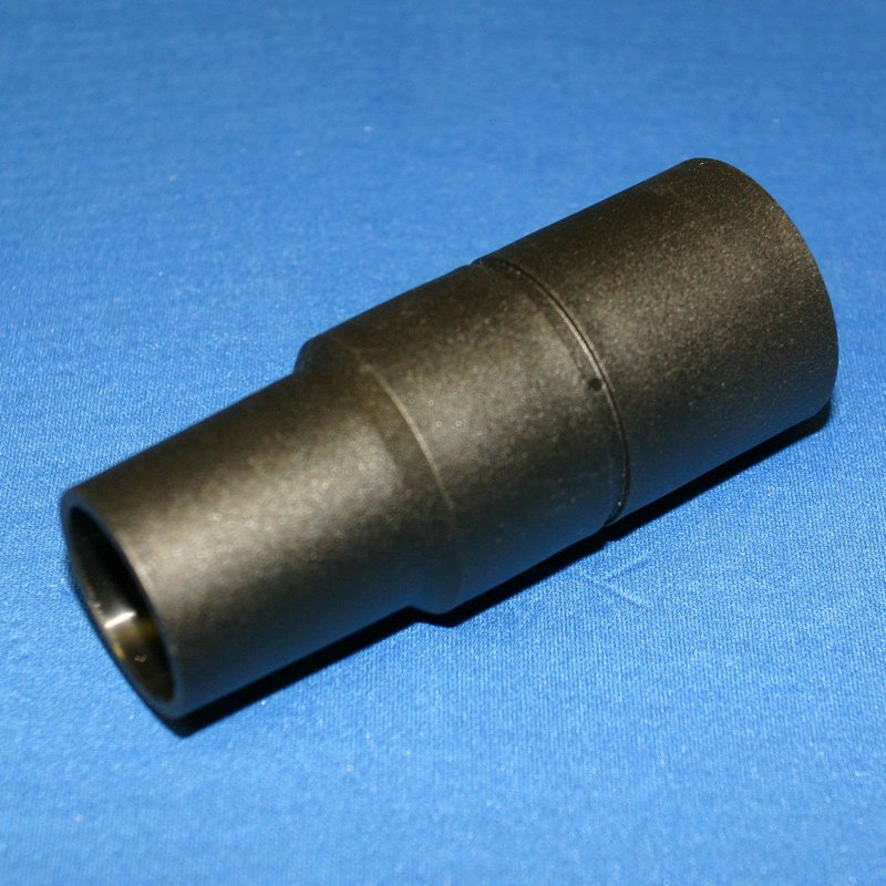 Adapter Black Plastic Reducer 1-1/2 To 1-1/4