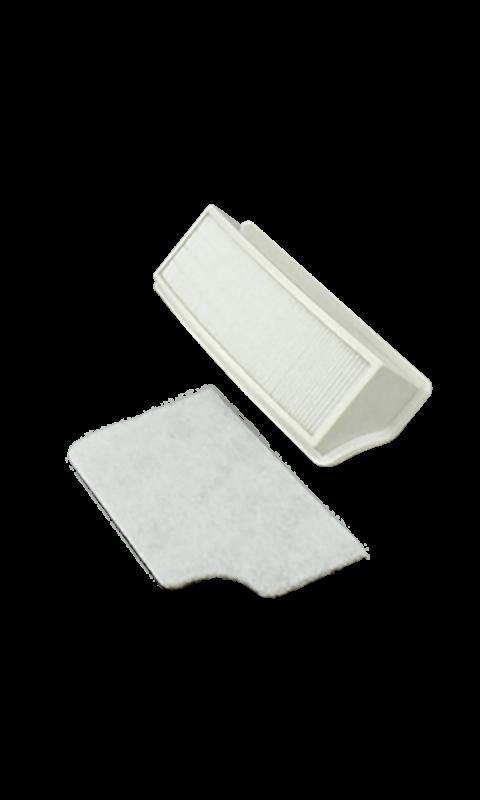 Riccar VIBPBP VIBP HEPA Media and Charcoal Filter Set