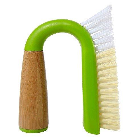 Full Circle Grunge Buster Grout & Tile Brush- Green