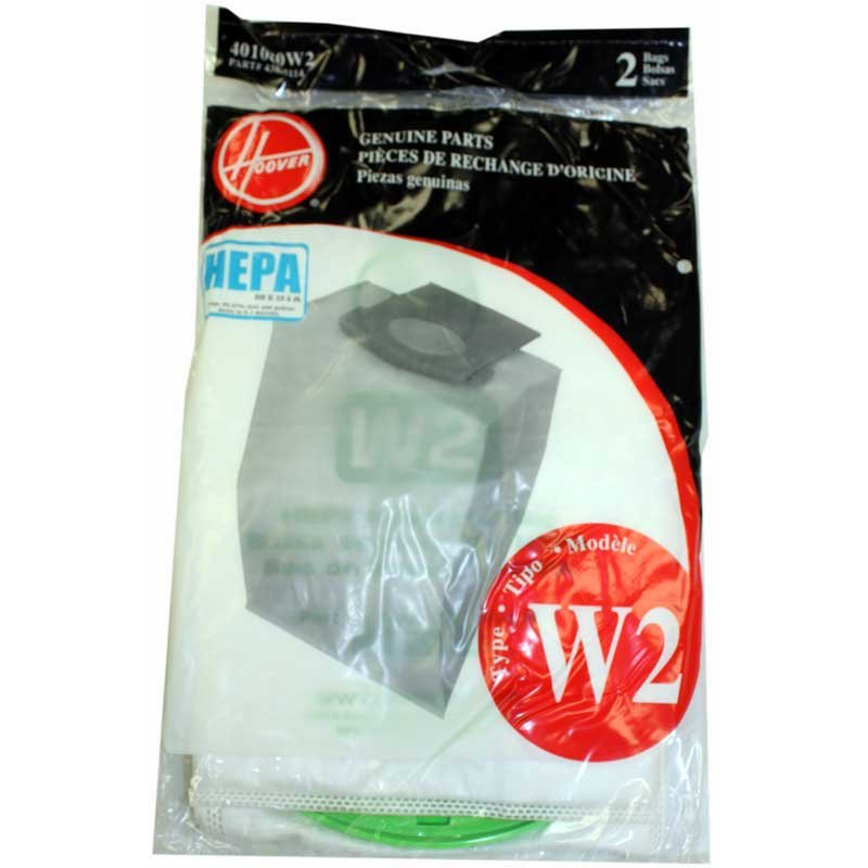 Hoover W2 Bags- 2pk