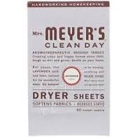 Mrs. Meyer's Dryer Sheets - Lavender