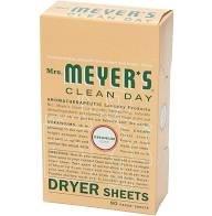 Mrs. Meyer's Dryer Sheets - Geranium