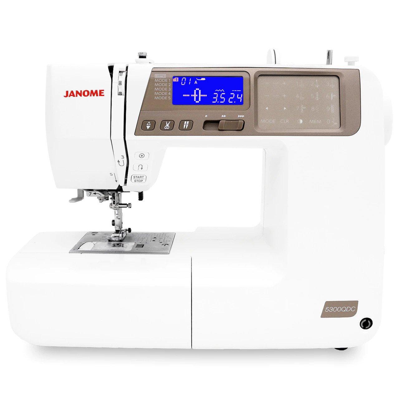 Janome 5300QDC-T Sewing Machine