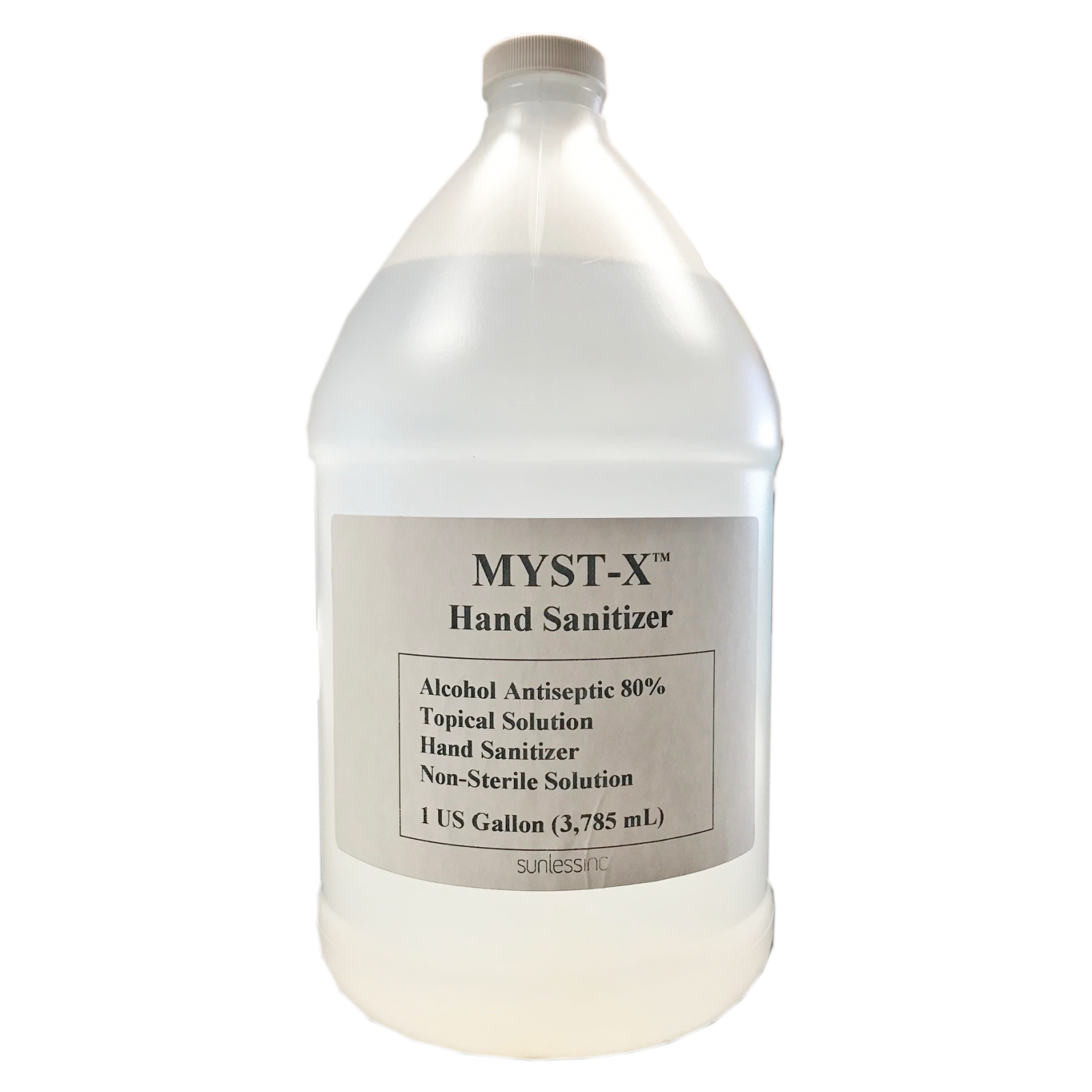 Myst-X Hand Sol 80% Alcohol Gal.