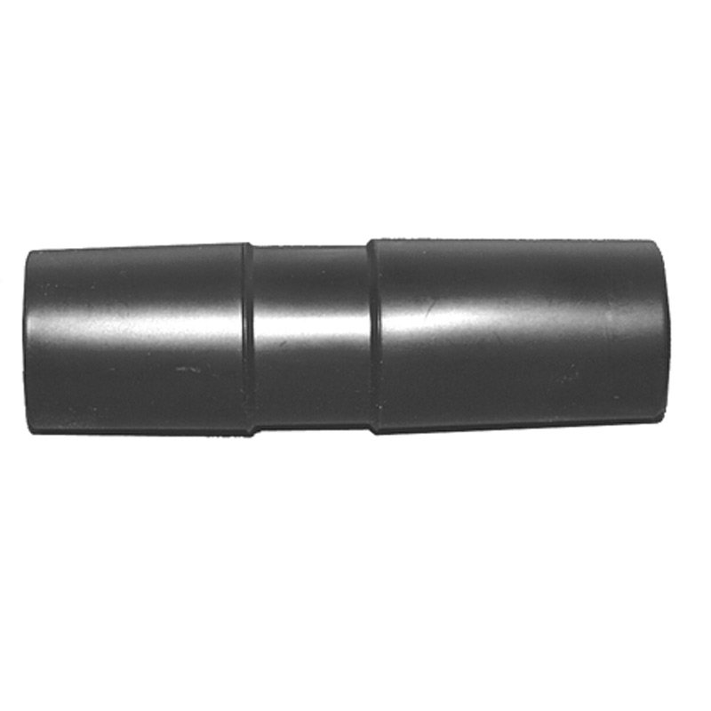 Adapter, Black Plastic 4.5 Long 1.25 to 1.25