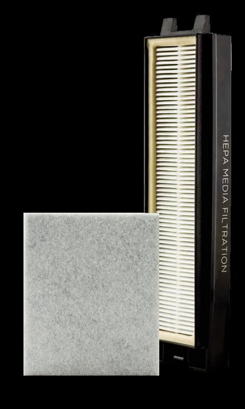 Riccar R25D HEPA Media & Charcoal Filter Set