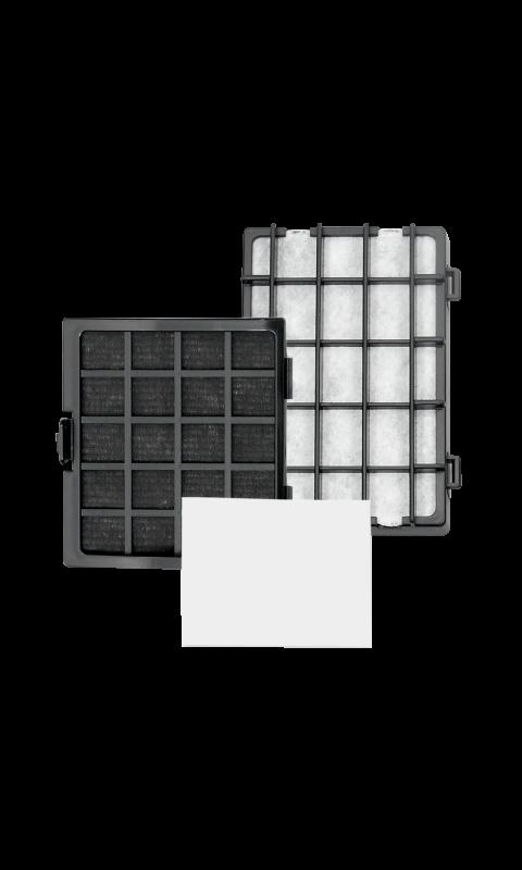 Riccar R30PET & R30P HEPA Media & Granulated Charcoal Filter Set
