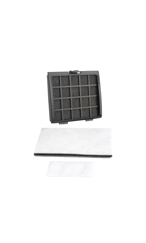 Riccar R30D HEPA Media & Foam Charcoal Filter Set