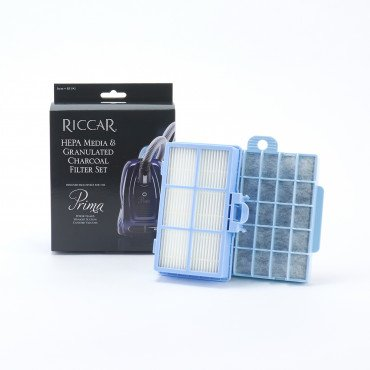 Riccar Prima HEPA Media & Granulatd Charcoal Filter Set