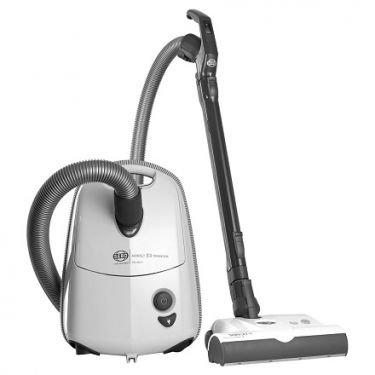 Sebo E3 Premium Airbelt w/ET-1 Power Head $ Parquet Brush Arctic White