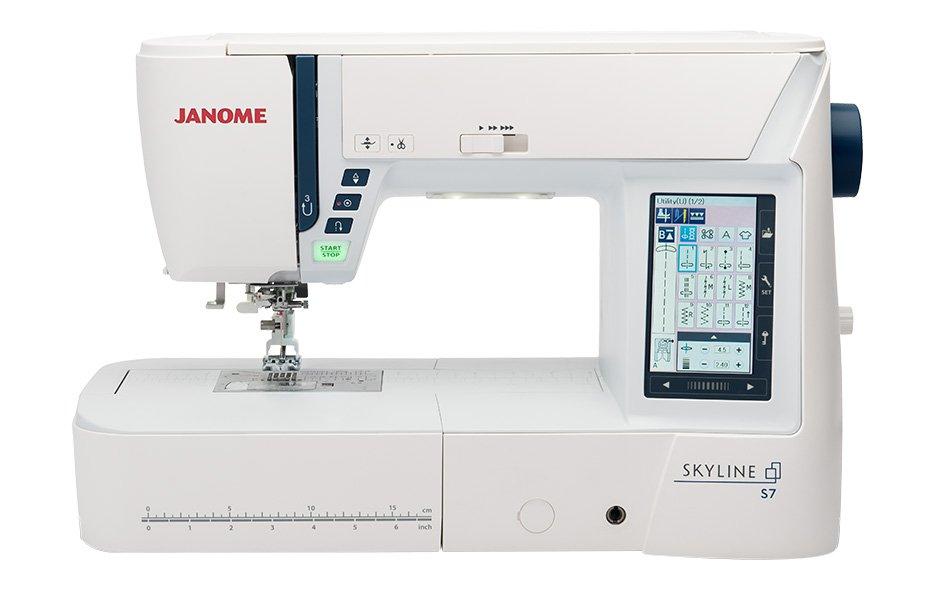 Janome Skyline S7 Indigo Sewing Machine