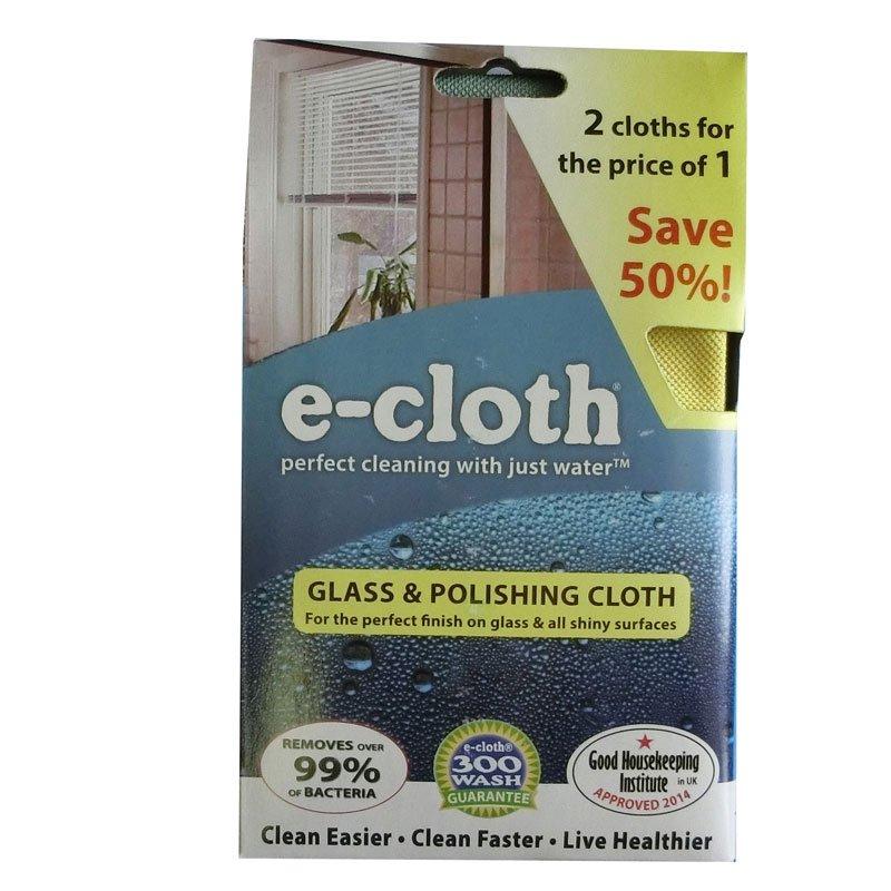 e-cloth Glass & Polishing Cloth 2 For 1 Promotion