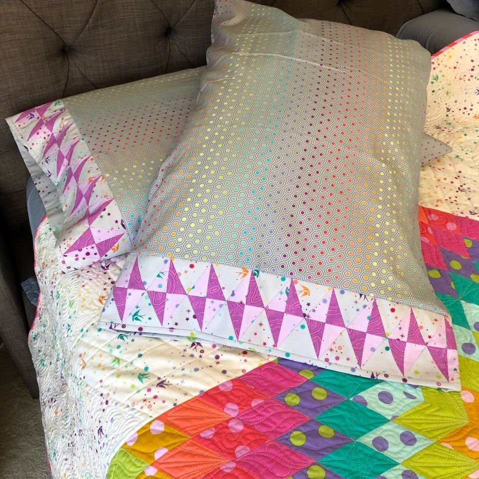 Journey to Nebula - Gemstone Pillowcase Kit - Makes 2 Pillowcases - Shipping Late November