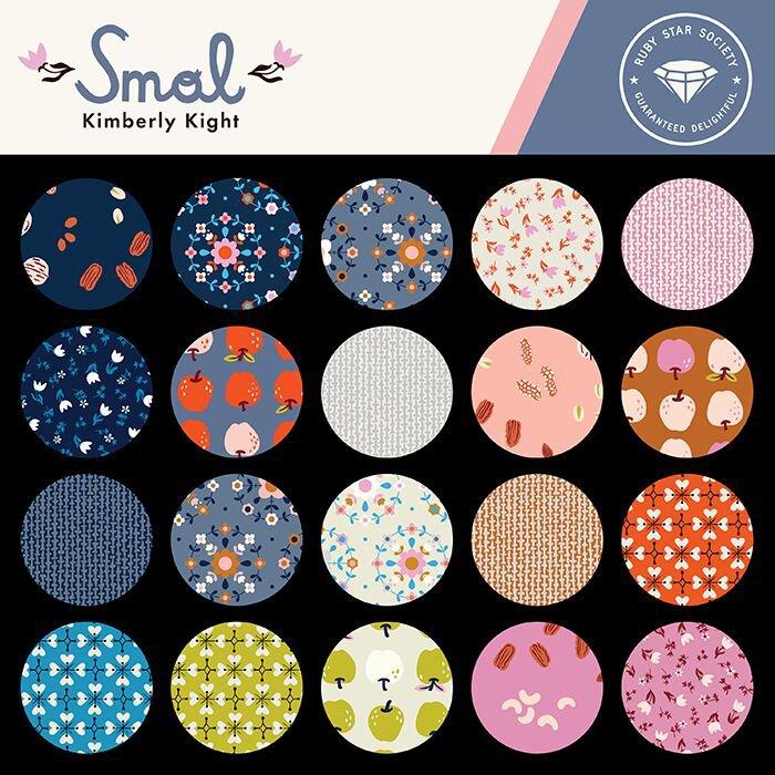 Kimberly Kight - Smol - for Ruby Star Fabrics - 19 Fat Quarters