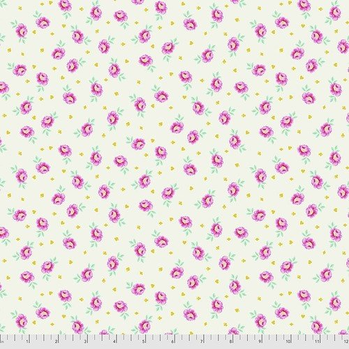 Curiouser & Curiouser - Tula Pink - Baby Buds - PWTP167.SUGAR
