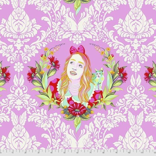 Curiouser & Curiouser  - Tula Pink - Alice - PWTP159.WONDER